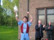Ben Williams current 1st team Manager with I Zingari Champions Trophy 2005-06